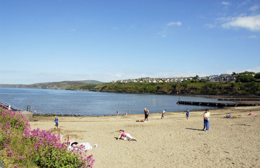 Parrog Beach, Goodwick