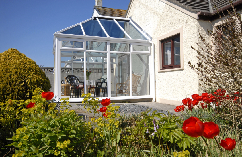 Pembrokeshire cottage holiday - conservatory