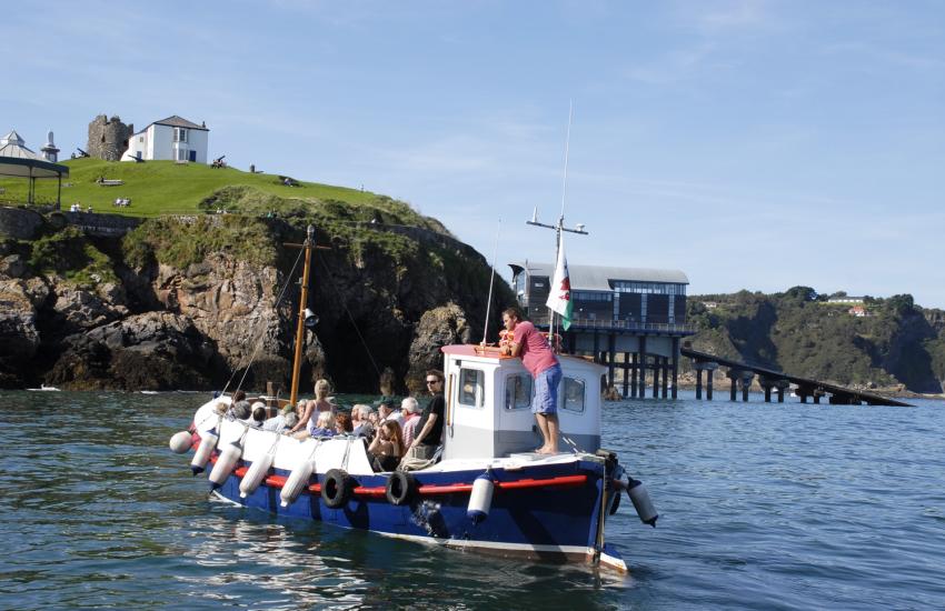 Caldey Island Cistercian monks