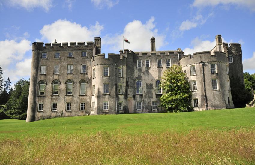 Picton Castle set in 40 acres