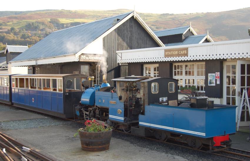 Steam Railway at Fairbourne
