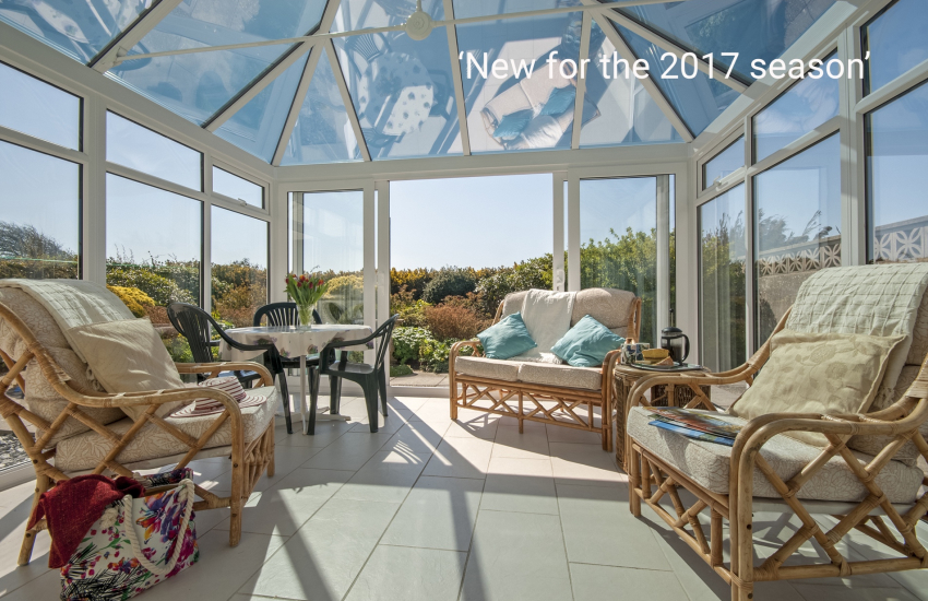 St Davids Pembrokeshire holiday cottage - conservatory