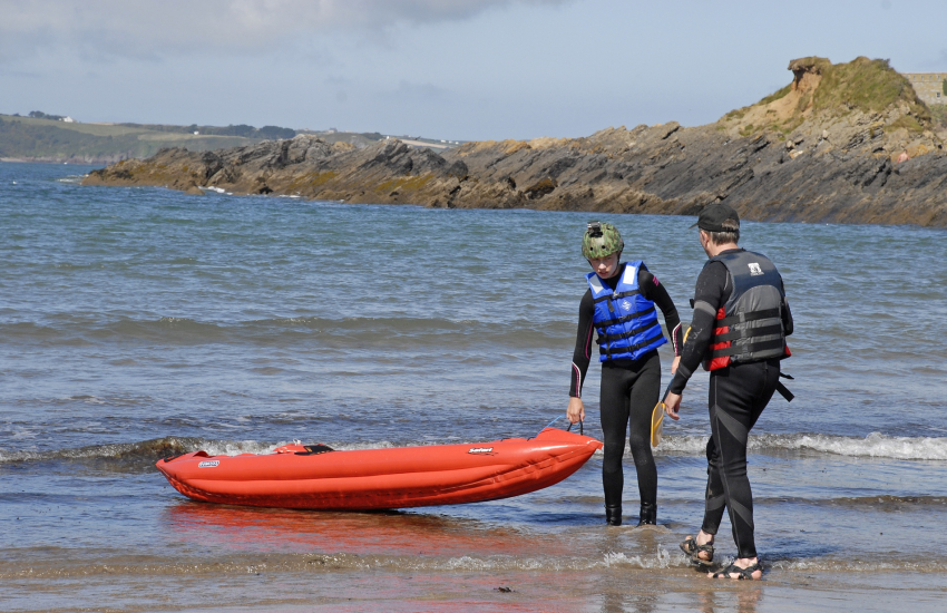 Dragon Activity, Preseli Venture and Celtic Quest all offer coasteering