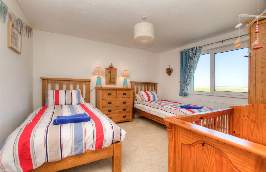 Pembrokeshire coastal cottage  - bedroom