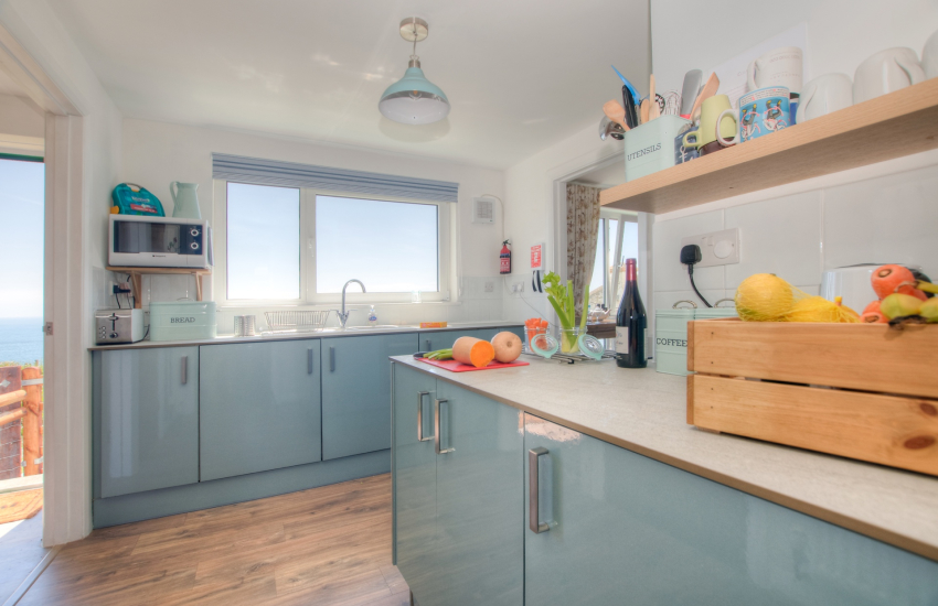 Pet friendly Pembrokeshire cottage - kitchen