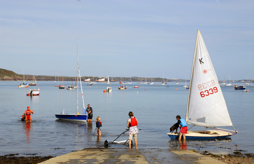 West Wales Water Sports offer equipment hire and tuition for sailing