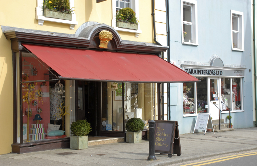Narberth - great for shopping with interesting craft shops
