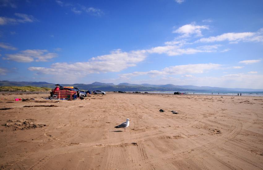 Blackrock Sands, drive on beach