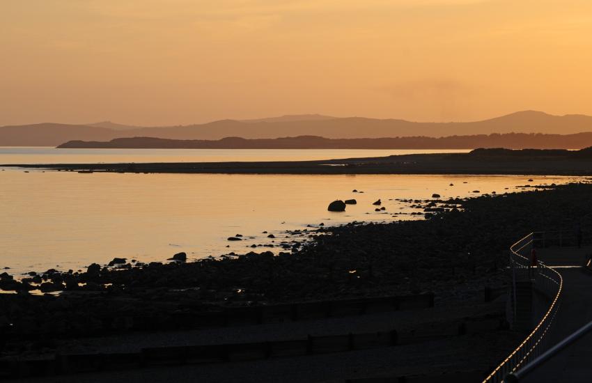 Criccieth on the Lleyn Peninsula