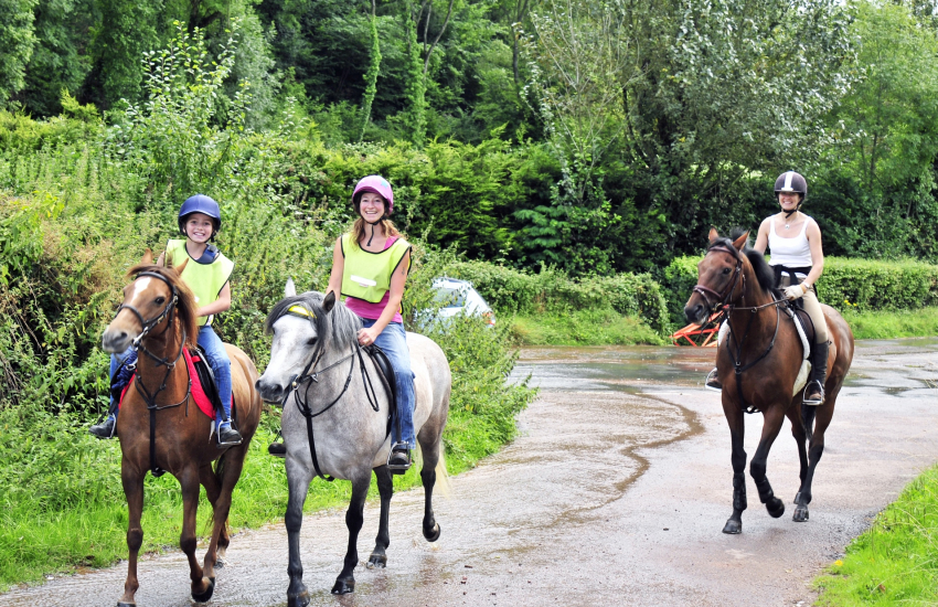 Crosswell Riding Stables near Newport