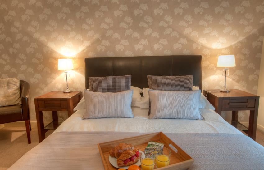 Porthgain holiday cottage - 1st floor bedroom