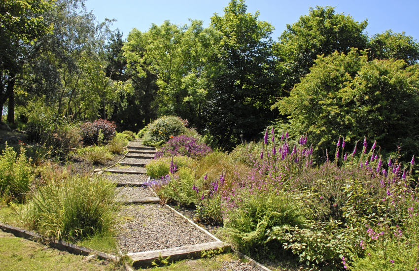 Gardens at Yr Hafan