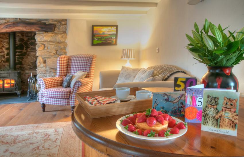 Coastal holiday cottage Pembrokeshire - lounge