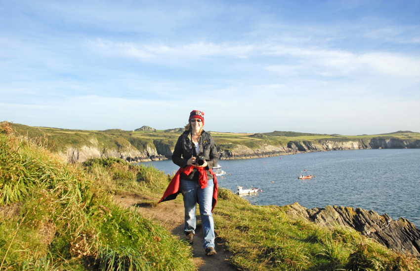 St Justinians offers fabulous cliff-top walking