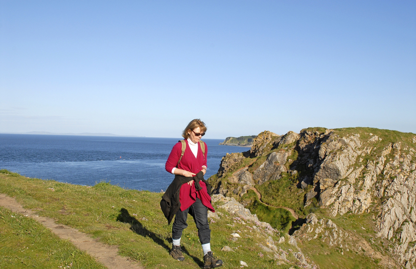 Pembrokeshire Coast Path for stunning cliff top scenery