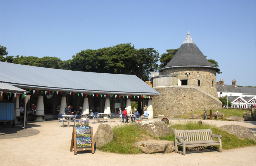 Oriel y Parc at the top of St. Davids has a permanent Landscape Gallery