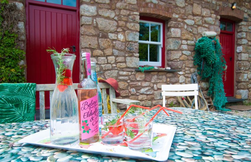 Reynoldston holiday cottage Gower - garden