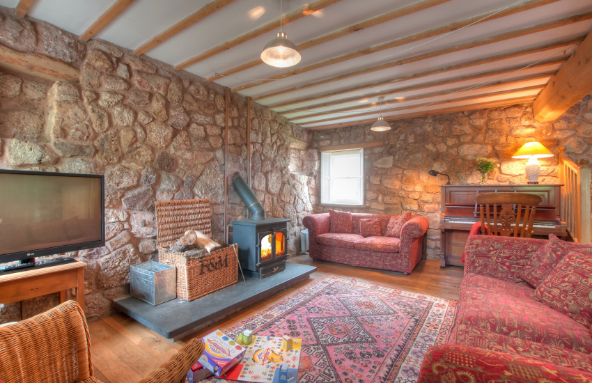 Gower holiday cottage - lounge