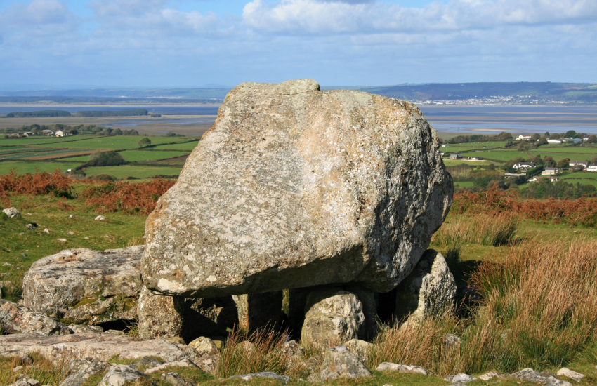 King Arthur's Stone on the Gower