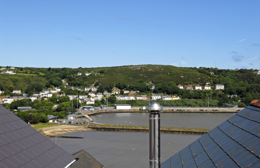 Views over Fishguard Harbour from the third floor double
