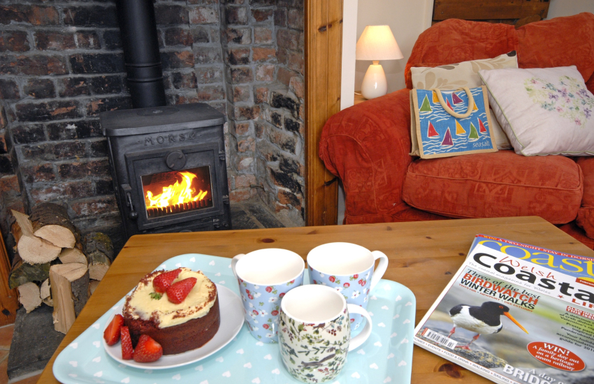 North Pembrokeshire holiday cottage with comfy sitting room