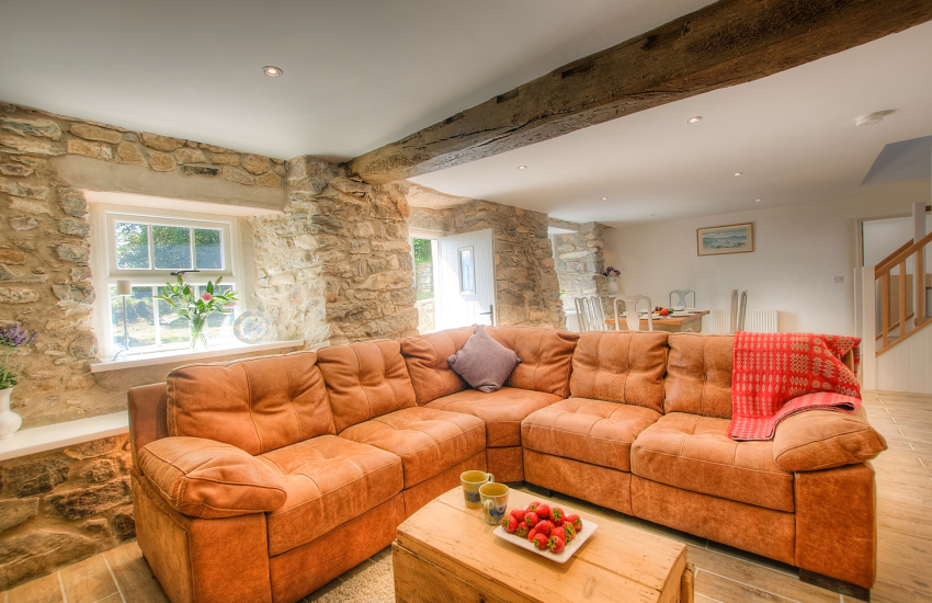 Abersoch  holiday cottage - lounge