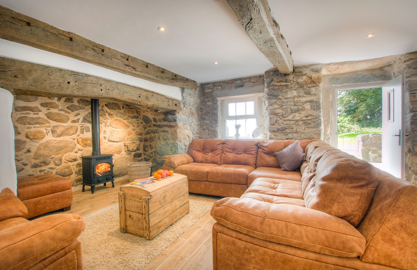 Hells Mouth holiday cottage - lounge