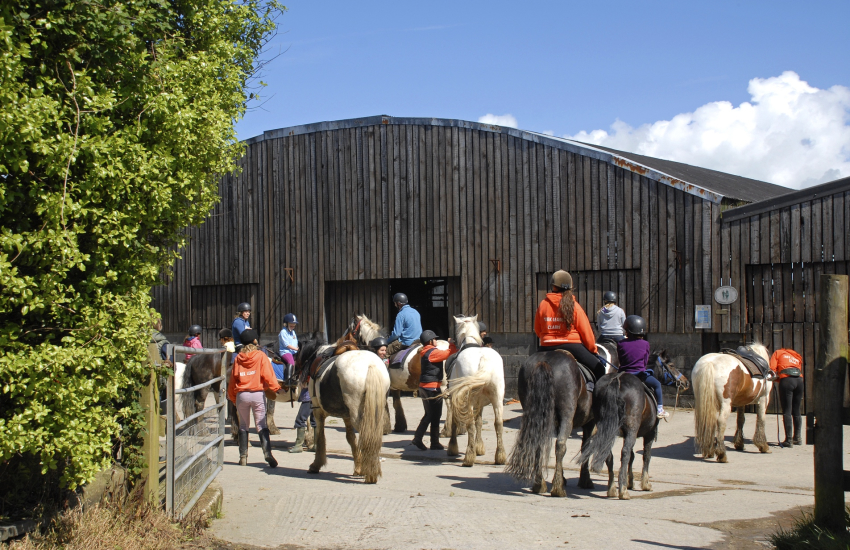 Nolton Riding Stables caters for all riding abilities