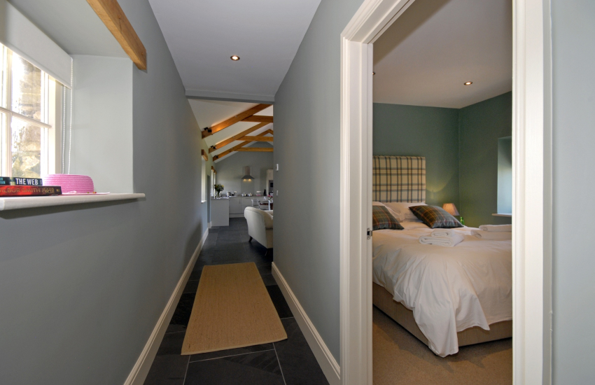 Porthclais Lodge - ground floor accommodation only