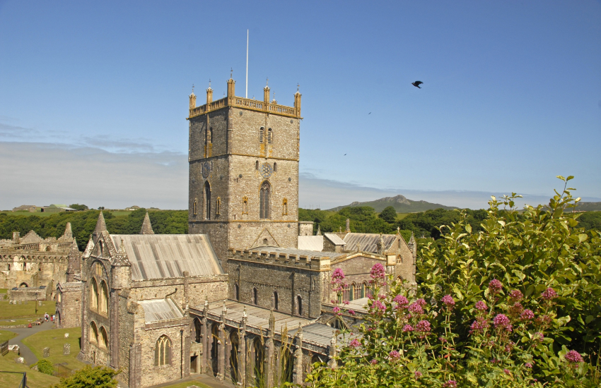 St Davids is Britain's smallest city with the magnificent 12th century Cathedral