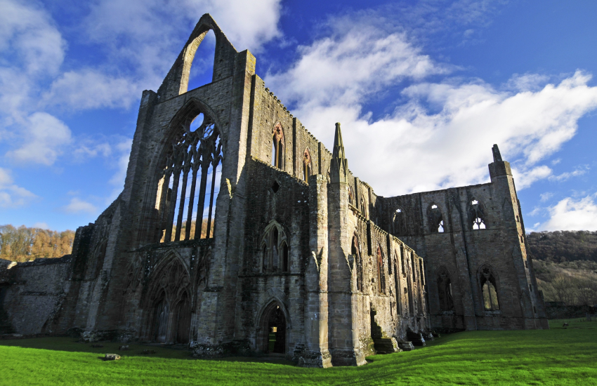 Tintern Abbey date back to the 12th Century