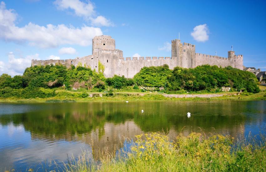Pembroke Castle was birthplace of Henry VII