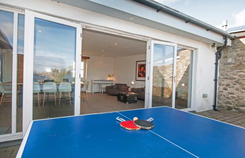 Outside table tennis Pembrokeshire