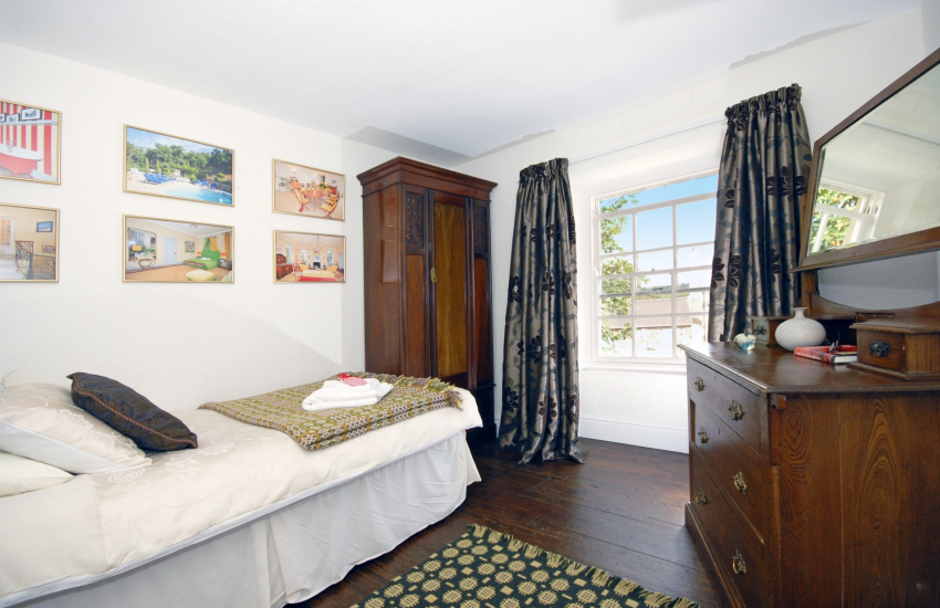 Pembrokeshire holiday cottage single bedroom