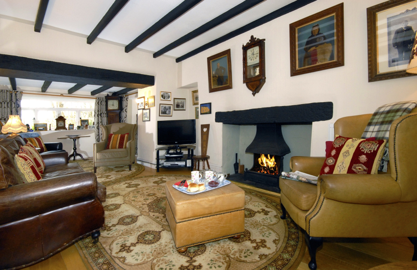 Holiday cottage near St Davids - lounge
