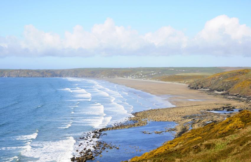 Newgale Sands Pembrokeshire