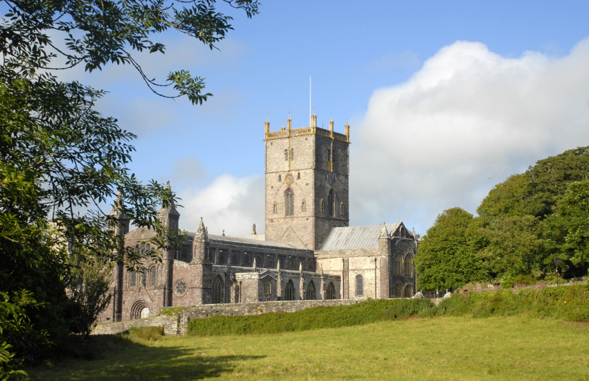 St Davids Cathedral - cultural centre of the village city of St Davids
