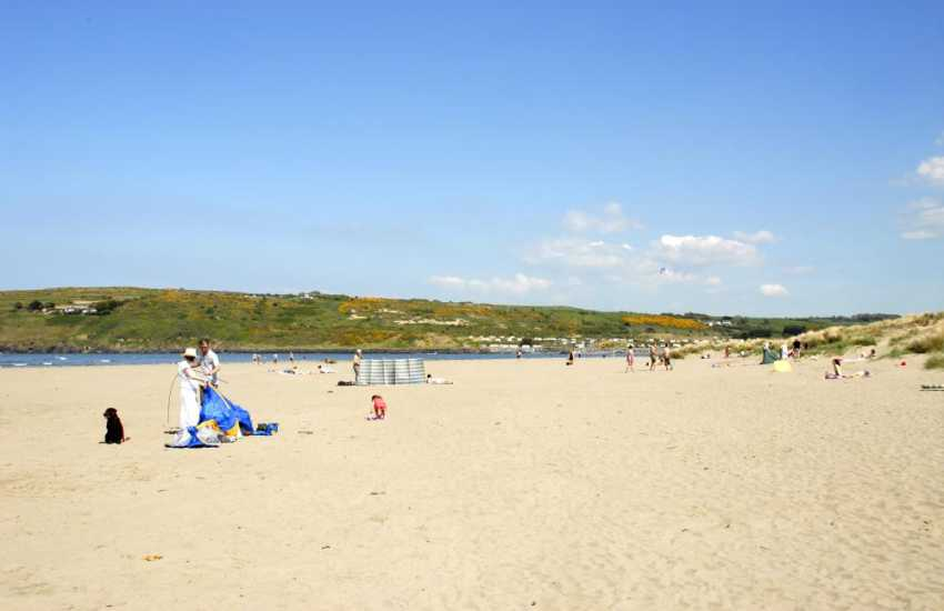 Do enjoy the 2 mile stretch of golden sands at Poppit Sands beach. This Welsh coastline is dotted with tiny smugglers coves and beautiful sandy beaches