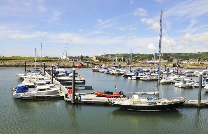 Burry Port Harbour and Marina - situated in the heart of the award winning Millennium Coastal Park