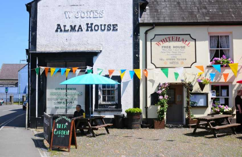 Llandovery has an interesting selection of shops and pubs as well as a craft market