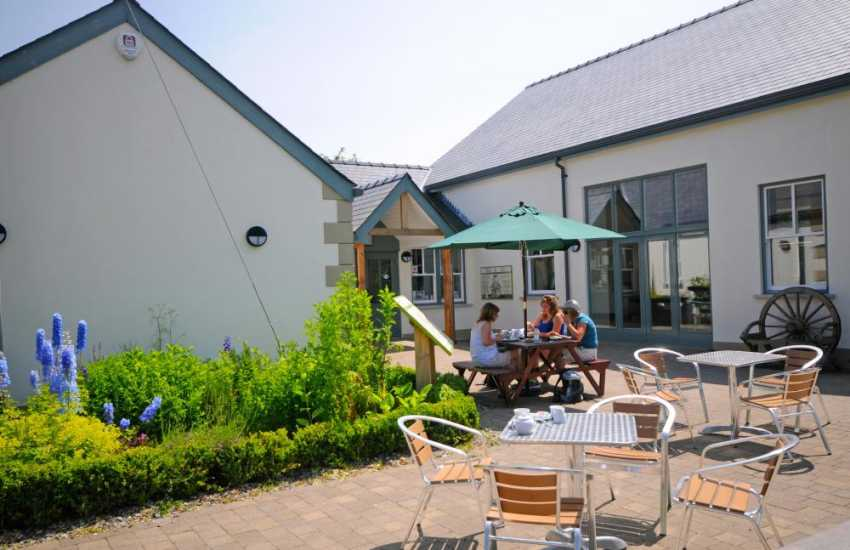 Visitor Centres an energy efficient facility in the heart of the picturesque village of Myddfai