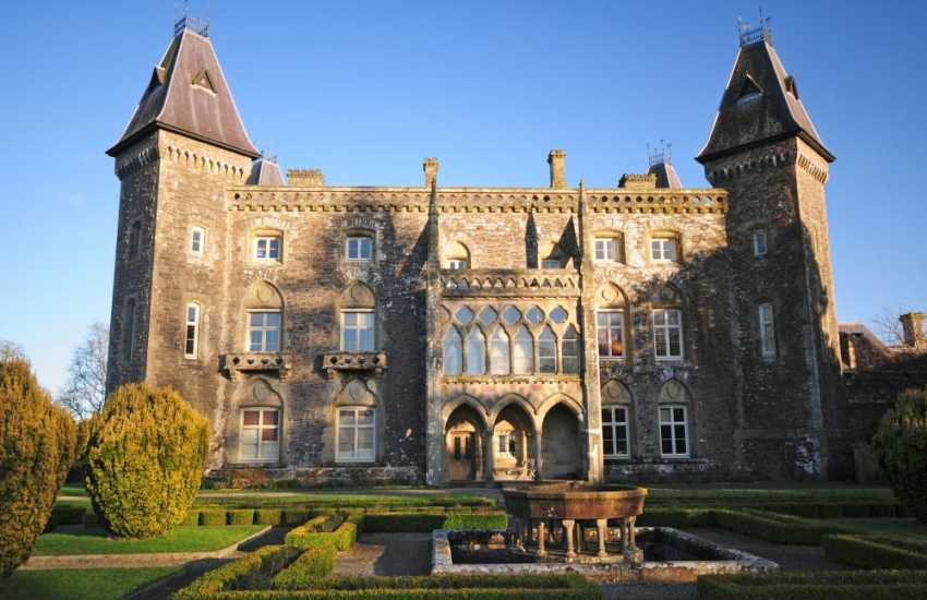 Newton House at Dinefwr Park (National Trust) a short drive away