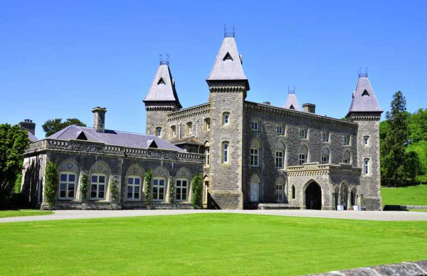 National Trust Property Newton House in Dinefwr Park Relive Edwardian life below stairs in Newton House; explore the romantic ruins of Dinefwr Castle, a home to the princes of Deheubarth