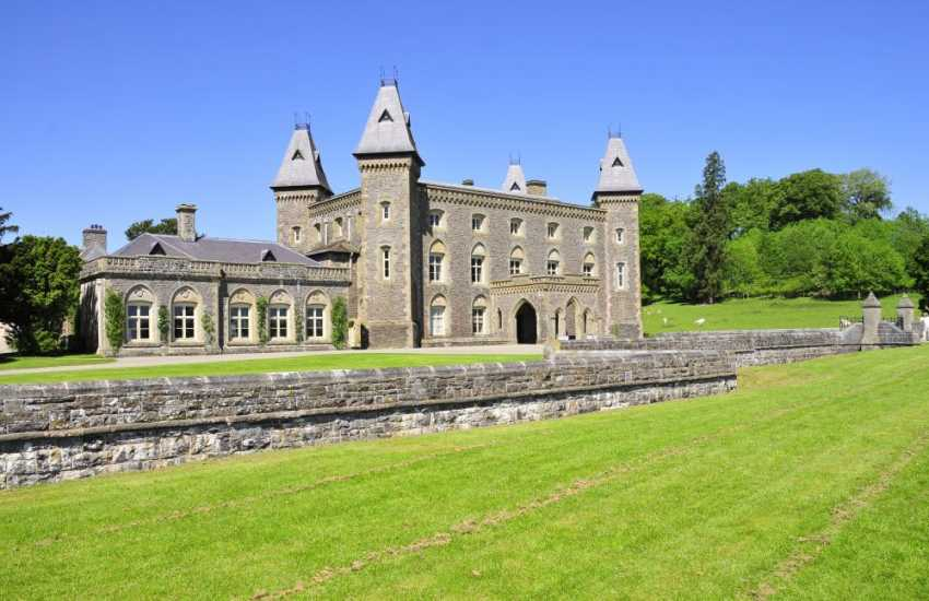 Newton House, Dinefwr, Llandeilo is owned by The National Trust - adventure playgrounds, tours and activities for all to enjoy