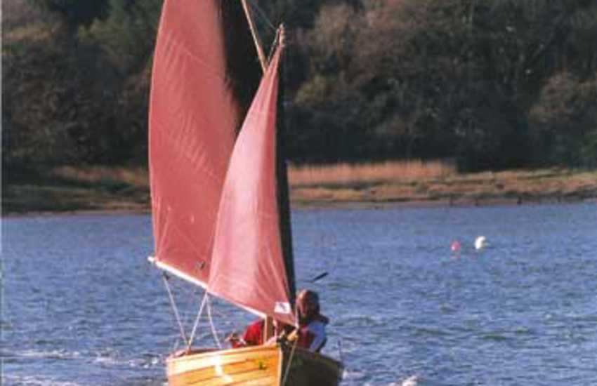 The upper reaches of the Haven Waterway offers safe sailing and boating in wonderful countryside, and excellent waterside walks