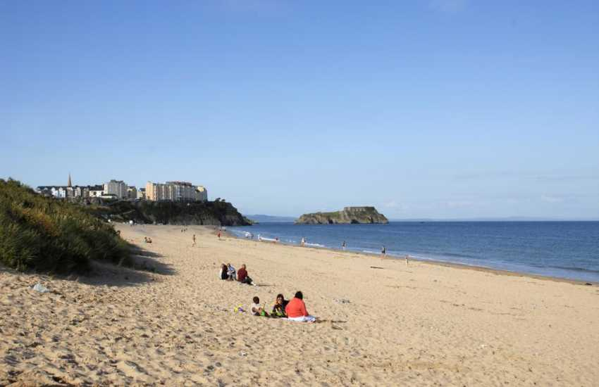 One of Tenby's gorgeous sandy beaches