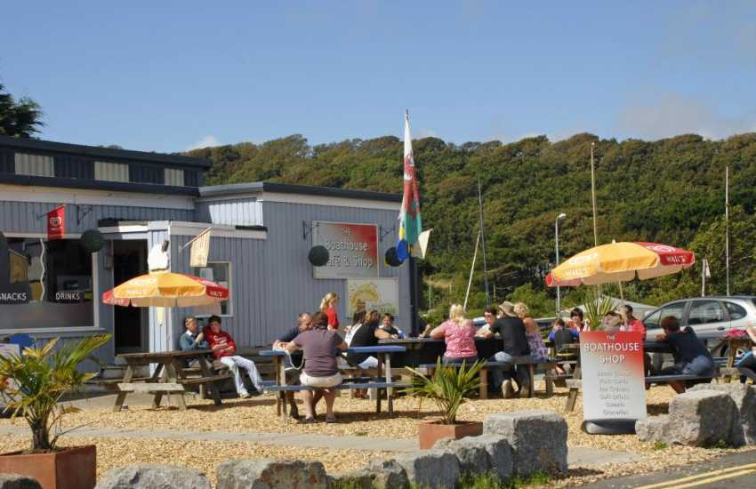 The Boat House Cafe with friendly staff in Dale village stocks provisions and good home cooking daily