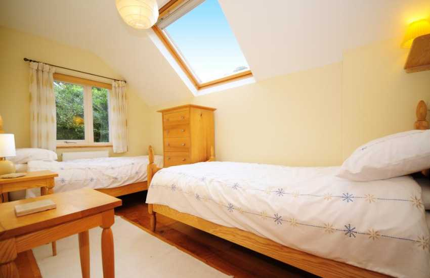 Twin room in North Wales Holiday cottage