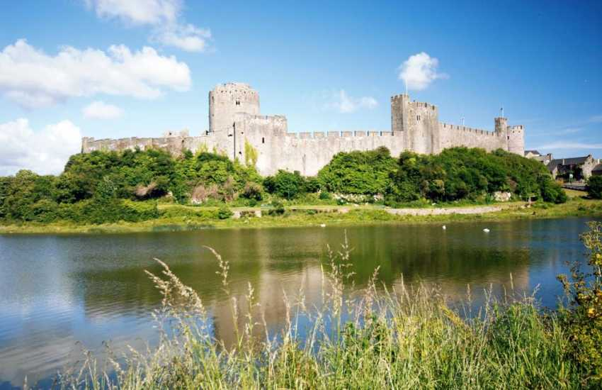The magnificent medieval Pembroke Castle nearby is the birth place of Henry VII and well worth a visit.