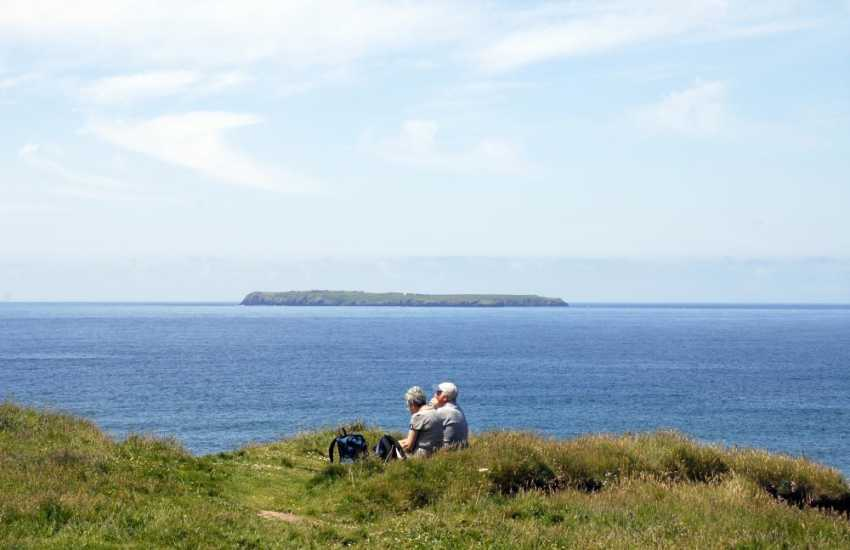 Time to stop and enjoy the abundant wildlife, sea birds and fresh sea air along the Pembrokeshire coast